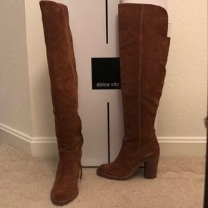 Dolce Vita Over the Knee Suede Boots